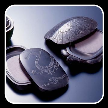 紅渓石硯(宮崎県伝統工芸品)