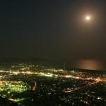 愛宕山から夜景