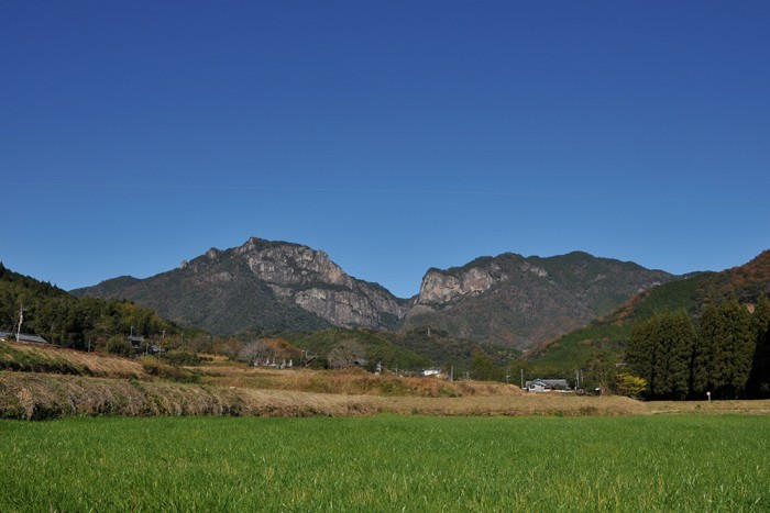 延岡 行縢山 行縢の滝