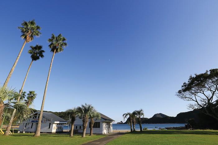 延岡市 須美江家族旅行村 須美江海水浴場