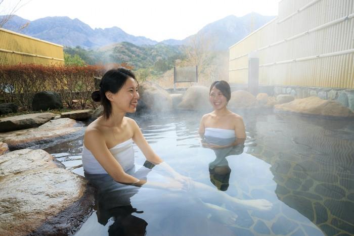 延岡市 祝子川温泉 美人の湯